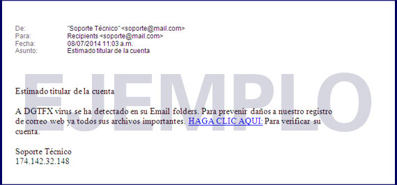 Ejemplo Phishing 4