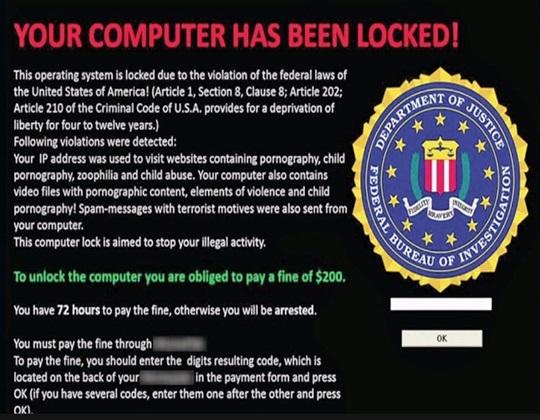 Ejemplo Ransomware